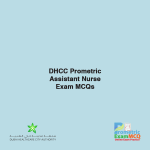 DHCC Prometric Assistant Nurse Exam MCQs