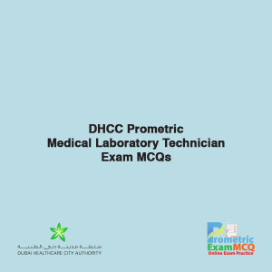 DHCC Prometric Medical Laboratory Technician Exam MCQs