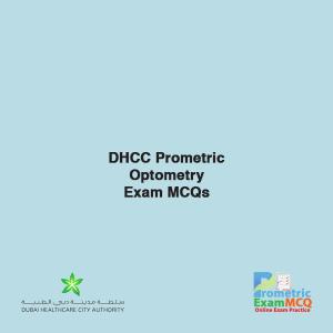 DHCC Prometric Optometry Exam MCQs