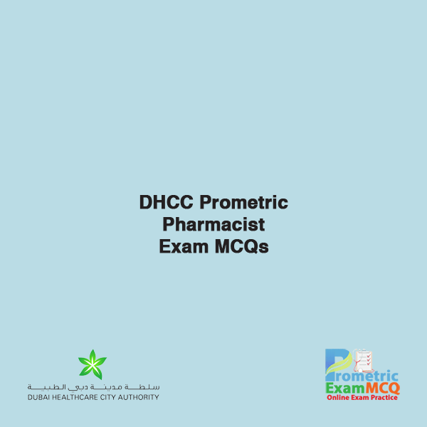 DHCC Prometric Pharmacist Exam MCQs
