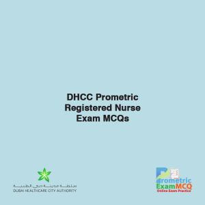 DHCC Prometric Registered Nurse Exam MCQs
