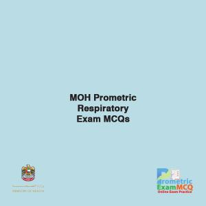 MOH Prometric Respiratory Exam MCQs