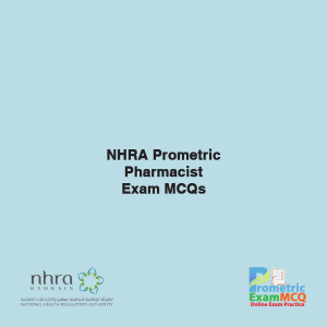 NHRA Prometric Pharmacist Exam MCQs