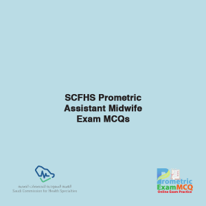SCFHS Prometric Assistant Midwife Exam MCQs