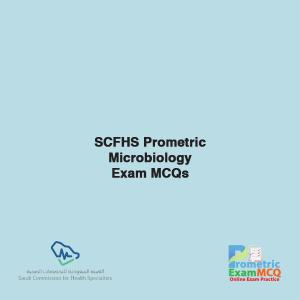 SCFHS Prometric Microbiology Exam MCQs