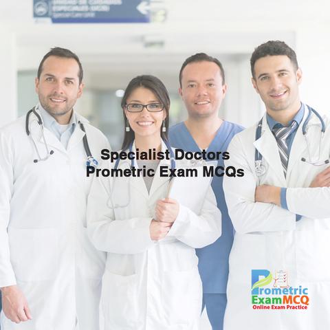 Prometric Exam MCQs for Specialist Doctor