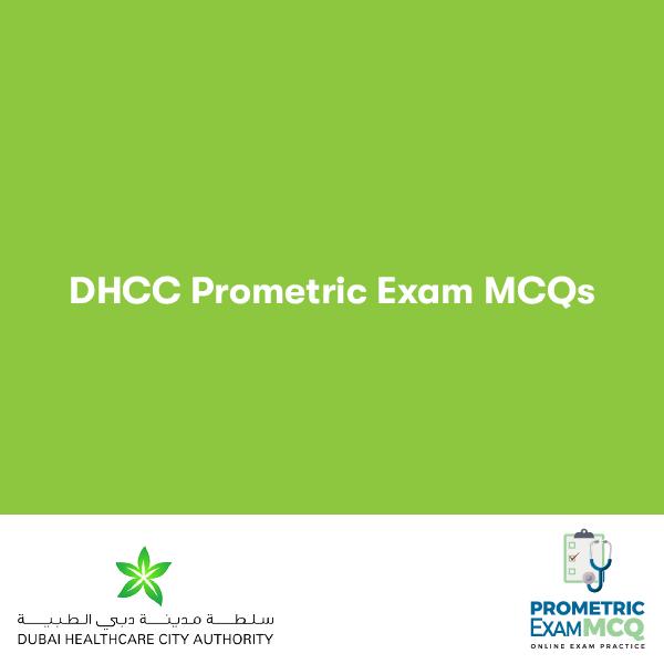 DHCC Prometric Exam MCQs