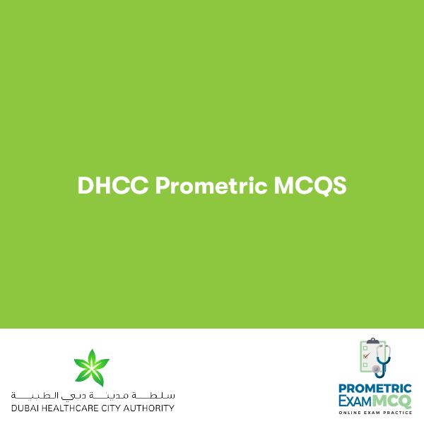 DHCC Prometric MCQs