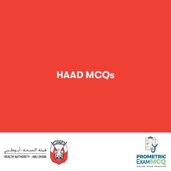 HAAD MCQs
