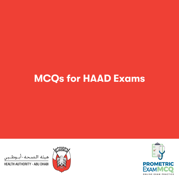 MCQS FOR HAAD EXAMS