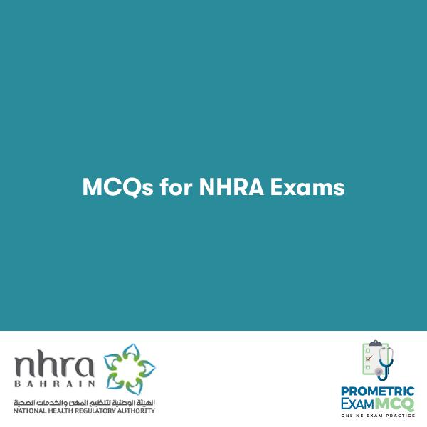 MCQS FOR NHRA EXAMs