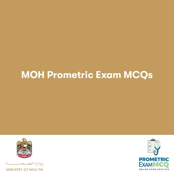 MOH PROMETRIC EXAM MCQS