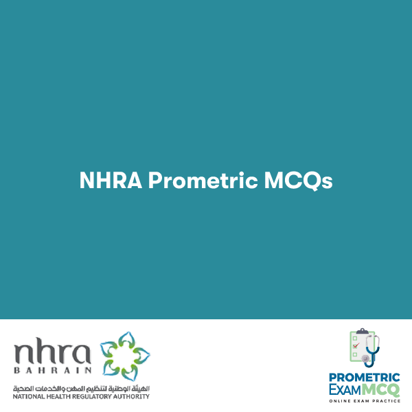 NHRA Prometric MCQs