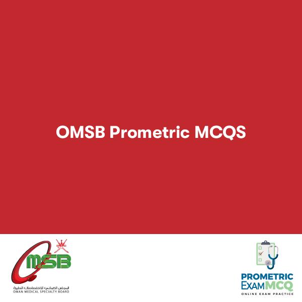 OMSB PROMETRIC MCQS