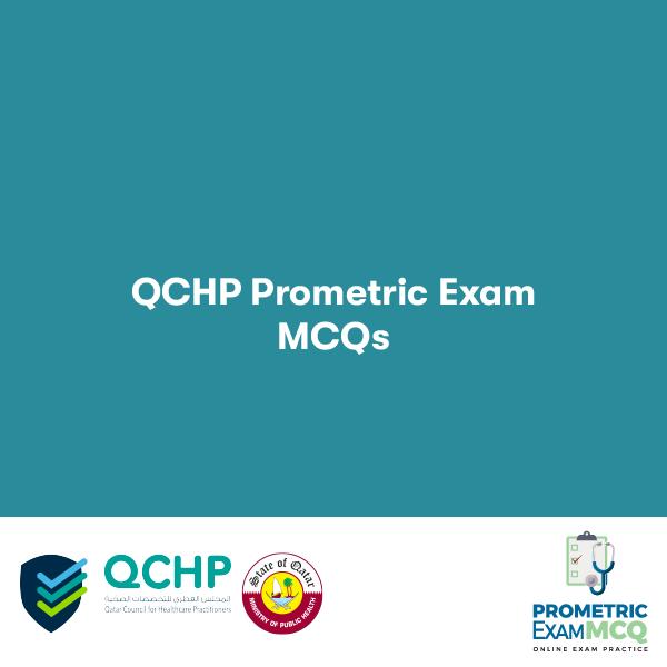 QCHP Prometric MCQs