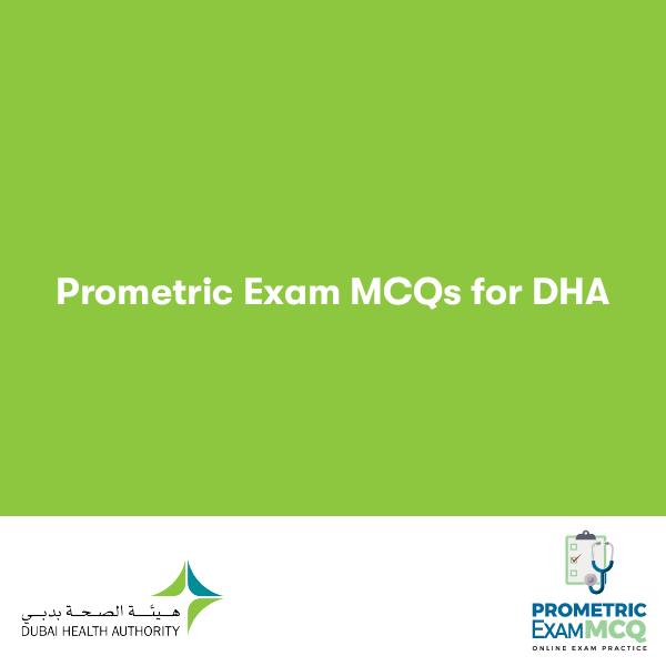 Prometric Exam MCQs for DHA