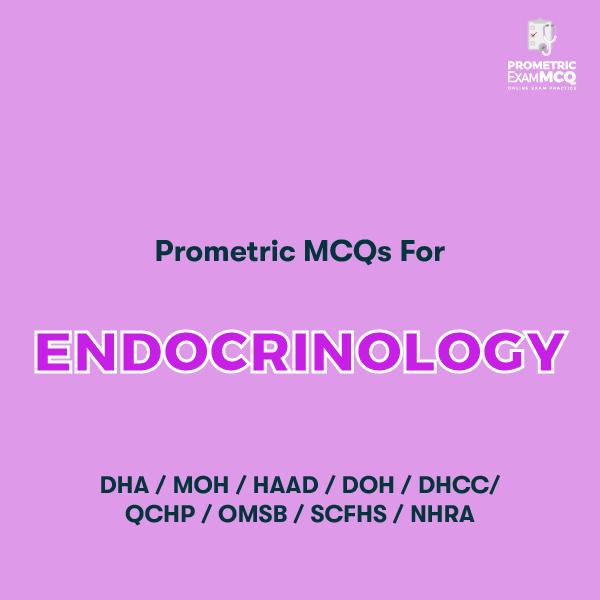 Prometric MCQs for Endocrinology