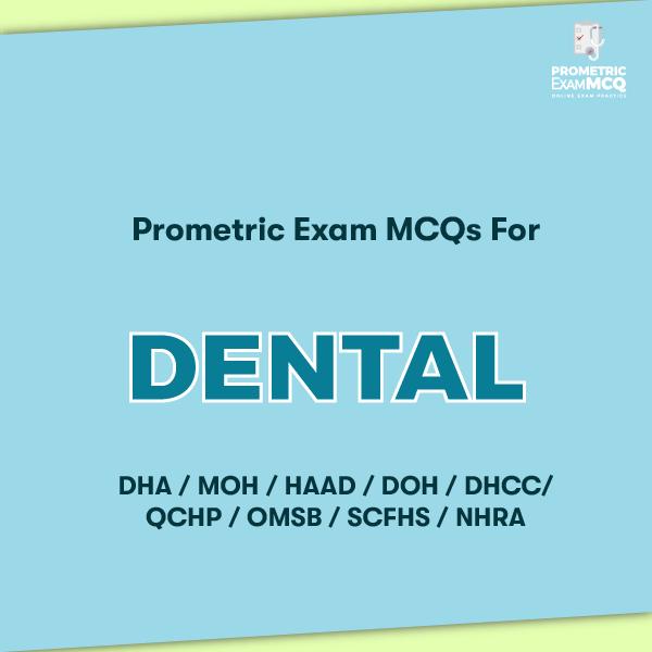 Prometric Exam MCQs for Dental