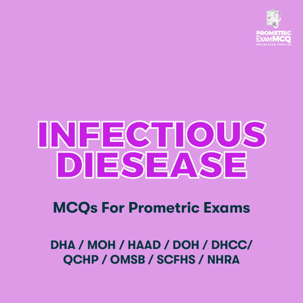 Infectious Diesease MCQs For Prometric Exams